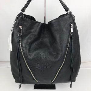 Rebecca Minkoff Moto Black Hobo Bag HS16EFCH04